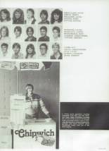 1984 Chaparral High School Yearbook Page 154 & 155