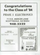 1984 Chaparral High School Yearbook Page 202 & 203