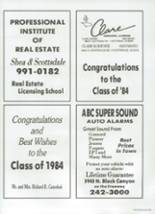 1984 Chaparral High School Yearbook Page 206 & 207