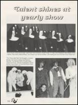 1997 Quanah High School Yearbook Page 128 & 129