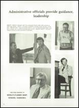 1976 Seward High School Yearbook Page 16 & 17