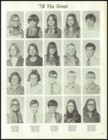 1973 Carrollton High School Yearbook Page 138 & 139