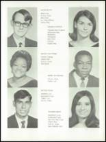 1968 Meridian High School Yearbook Page 10 & 11