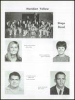 1968 Meridian High School Yearbook Page 36 & 37