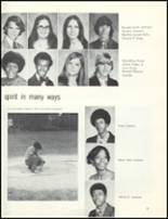 1974 Escambia County High School Yearbook Page 42 & 43