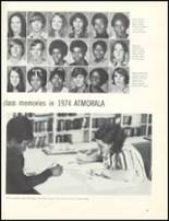 1974 Escambia County High School Yearbook Page 50 & 51