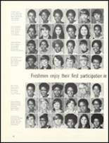 1974 Escambia County High School Yearbook Page 72 & 73