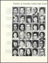 1974 Escambia County High School Yearbook Page 76 & 77