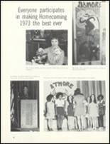 1974 Escambia County High School Yearbook Page 86 & 87