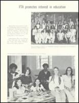 1974 Escambia County High School Yearbook Page 106 & 107