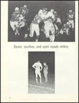 1974 Escambia County High School Yearbook Page 128 & 129