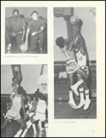 1974 Escambia County High School Yearbook Page 134 & 135