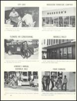1974 Escambia County High School Yearbook Page 166 & 167