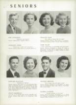 1951 Chicora High School Yearbook Page 14 & 15