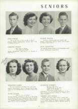 1951 Chicora High School Yearbook Page 16 & 17