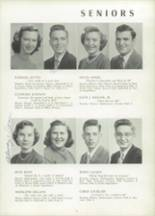 1951 Chicora High School Yearbook Page 18 & 19