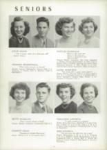 1951 Chicora High School Yearbook Page 20 & 21
