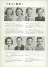 1951 Chicora High School Yearbook Page 22 & 23