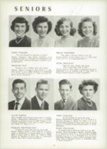 1951 Chicora High School Yearbook Page 24 & 25