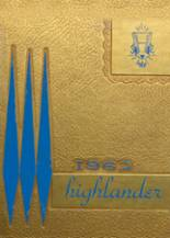 1962 Yearbook Highland High School