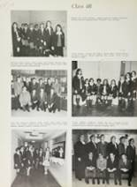 1969 Cardinal Spellman High School Yearbook Page 104 & 105