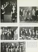 1969 Cardinal Spellman High School Yearbook Page 108 & 109
