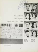 1969 Cardinal Spellman High School Yearbook Page 174 & 175