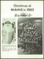 1984 Montrose High School Yearbook Page 140 & 141