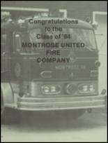 1984 Montrose High School Yearbook Page 146 & 147