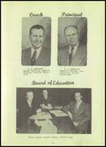 1952 Stanley High School Yearbook Page 10 & 11