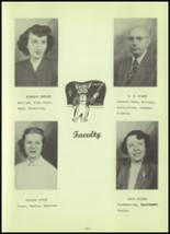 1952 Stanley High School Yearbook Page 12 & 13