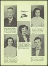 1952 Stanley High School Yearbook Page 14 & 15