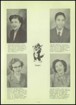 1952 Stanley High School Yearbook Page 16 & 17