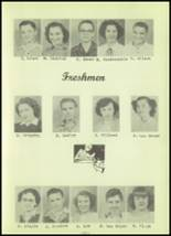 1952 Stanley High School Yearbook Page 24 & 25