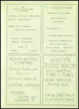 1952 Stanley High School Yearbook Page 58 & 59