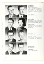 1961 Roanoke High School Yearbook Page 56 & 57