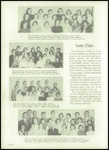 1954 Appleton High School Yearbook Page 38 & 39