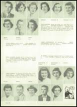 1954 Appleton High School Yearbook Page 106 & 107