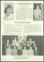 1954 Appleton High School Yearbook Page 122 & 123