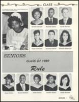 1989 Friendly High School Yearbook Page 50 & 51