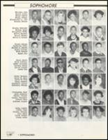 1989 Friendly High School Yearbook Page 100 & 101