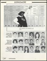 1989 Friendly High School Yearbook Page 106 & 107