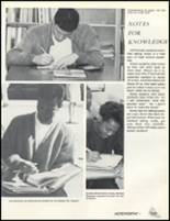 1989 Friendly High School Yearbook Page 142 & 143