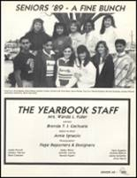 1989 Friendly High School Yearbook Page 228 & 229