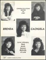 1989 Friendly High School Yearbook Page 234 & 235