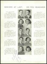 1941 Sewickley High School Yearbook Page 20 & 21