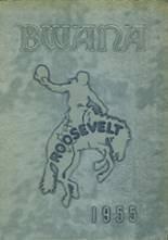 1955 Yearbook Roosevelt High School