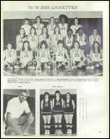 1976 Raleigh High School Yearbook Page 72 & 73