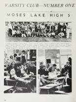 1981 Moses Lake High School Yearbook Page 142 & 143
