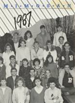 1987 Yearbook Roswell High School